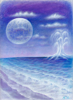 Astral Beach by Michelle Cavanaugh-Wilson