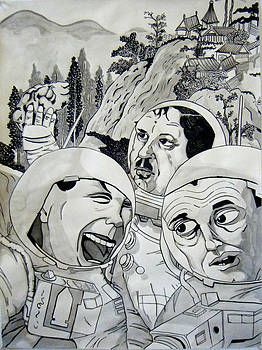 Astronauts in China by Justin Sadegh