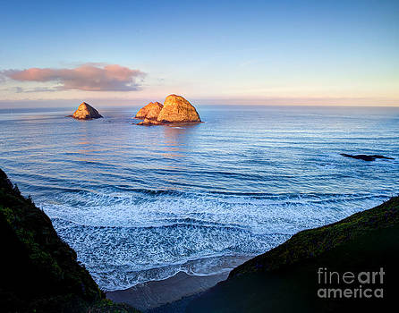 At Cliffs Edge by Bdsmalley