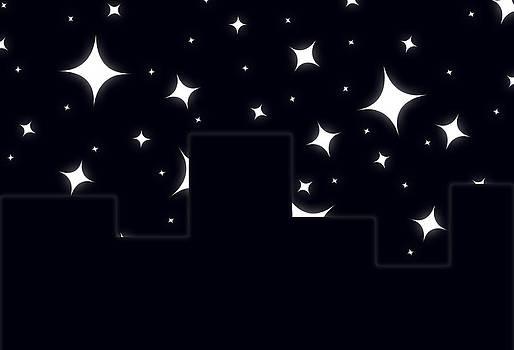 At Darkest Night the Stars Shine Bright by Brendan Moeller