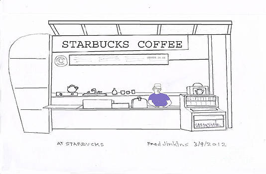 At Starbucks by Fred Jinkins