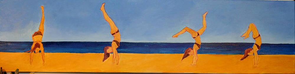 Victoria Sheridan - at the beach