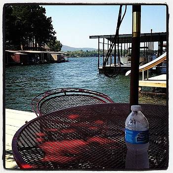 At The Lake For The Labor Day Weekend by Jeff Madlock