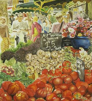 At the market by Dina Zirkind