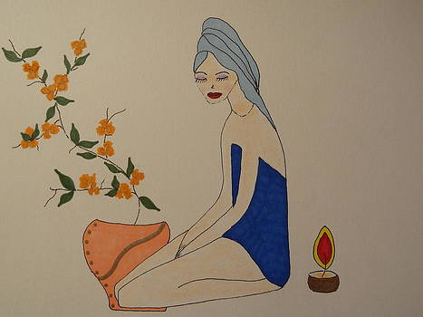 Nancy Fillip - At the Spa