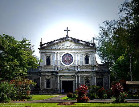 Ateneo de Naga University Church by Enrique Rueda