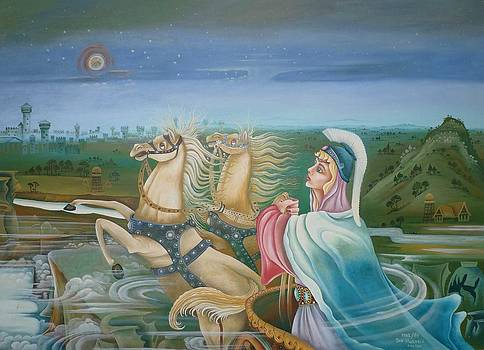 Athen - first sight of Troya by Mgr Art Jan Husarik
