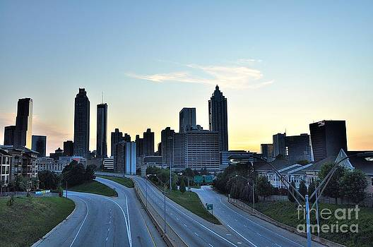 Atlanta GA Skyline by Eric Grissom
