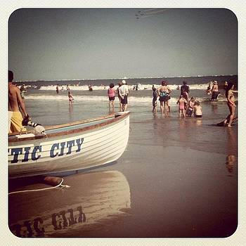 Atlantic City Beach by Tina Marie