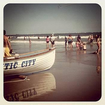 Atlantic City Beach by Tina Marie