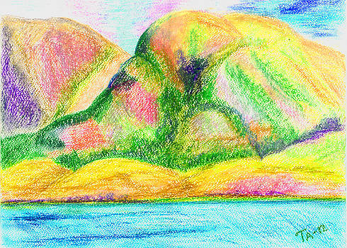 Atlantic mountains 3 by Taruna Rettinger