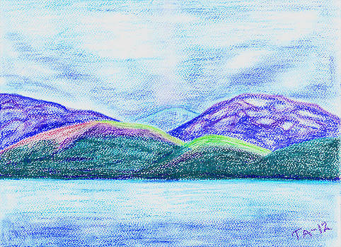 Atlantic mountains by Taruna Rettinger