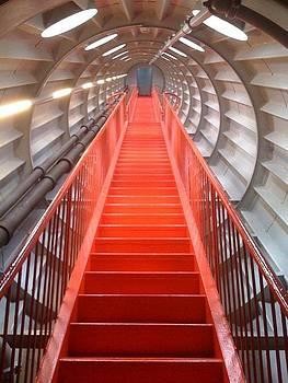 Atomium Corridor by Chris Wolf