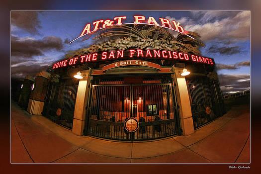 Blake Richards - ATT Park Front Gate