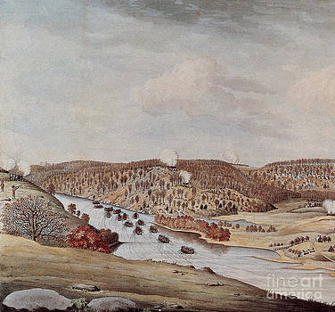 Photo Researchers - Attack Against Fort Washington 1776