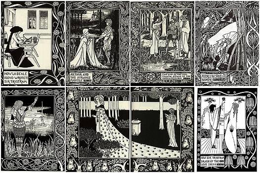 Aubrey Beardsley Collage One by Don Struke