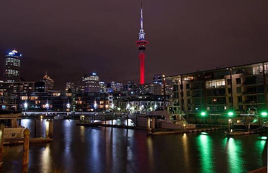 Auckand Viaduct by Chris Gin