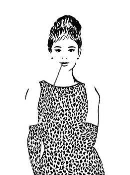 Audrey Hepburn by Georgeta  Blanaru