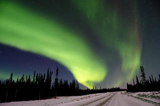 Aurora Sky by Steve  Milner