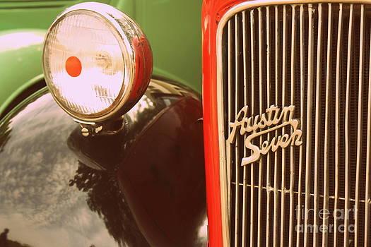 Austin Seven - vintage by Vishakha Bhagat
