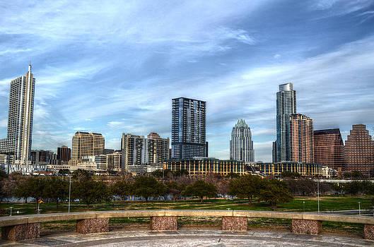 Austin Skyline by Kelly Kitchens