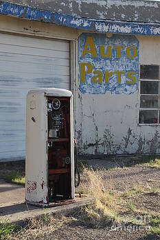 Auto Parts on Route 66 by Lori Bristow