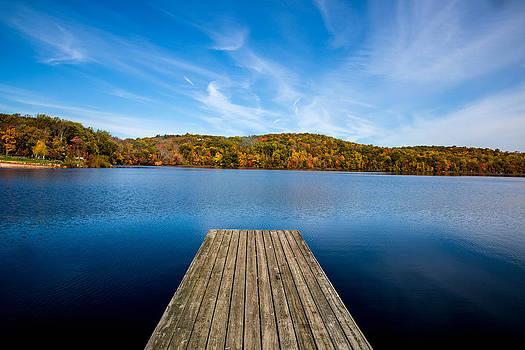 Autumn at Shepherd Lake by John Dryzga