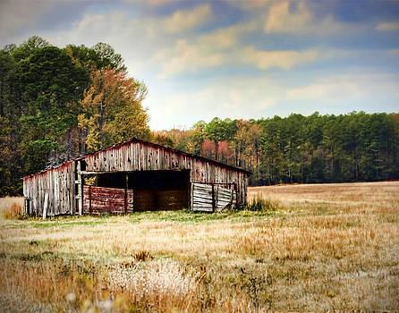 Autumn Barn by Tammy Reagan