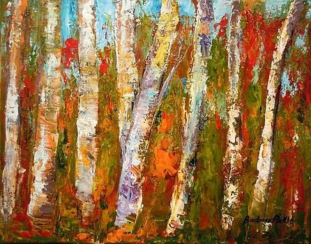 Autumn Birch by Barbara Pirkle