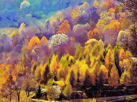 Autumn by Boguslaw Florjan