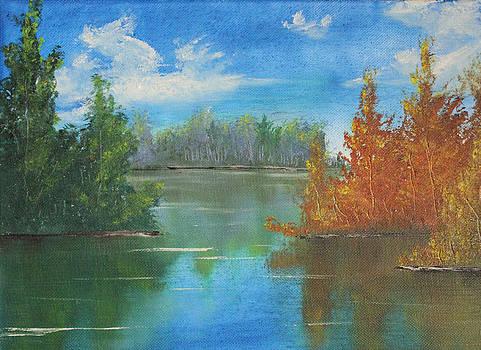 Autumn Calm by Justin  Dobbs