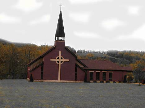 Autumn Church by Patricia Erwin