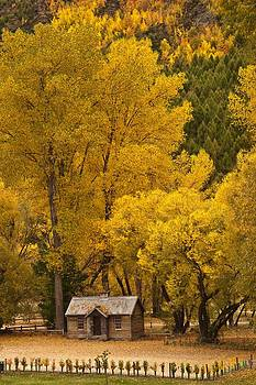 Autumn Cottage by Graeme Knox