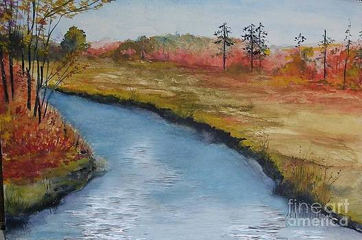 Autumn Creek by Sibby S