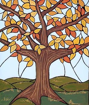 Autumn Gold by JW DeBrock