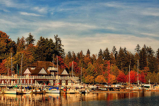 Autumn in Canada - Stanley Park by Long Nguyen