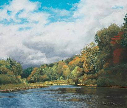 Autumn in the Valley by Bernadette Kazmarski