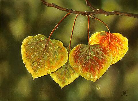 Autumn Leaves by Maria Varga-Hansen