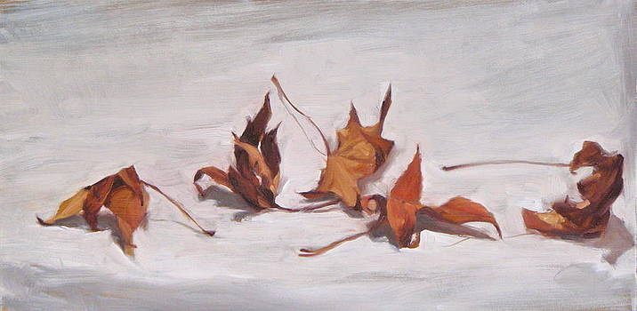Autumn Leaves by Roger Clark