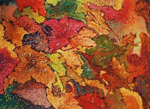 Autumn leaves by Terry Jackson