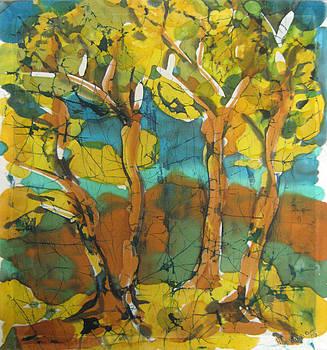 Autumn by Nadejda Lilova