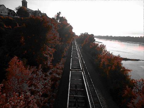 Autumn Rail by Patricia Erwin