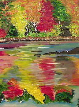 Autumn River by Jonathan Kania