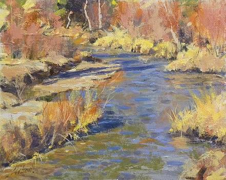 Autumn Stream by Greg Clibon