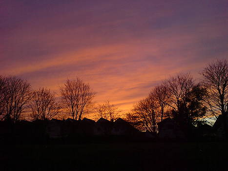 Autumn sunset by Andrea Mendes