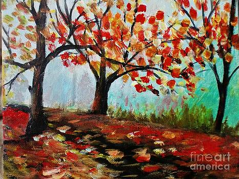 Autumn Trail by Trilby Cole