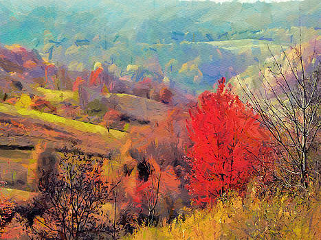 Autumn Tree by Boguslaw Florjan
