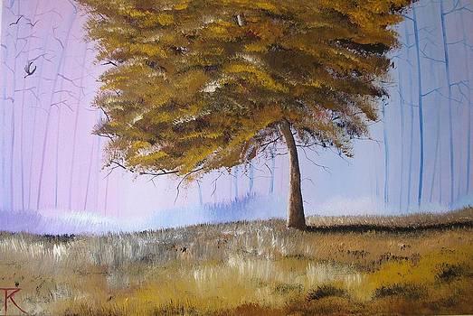 Autumn Tree by Trudy Kepke