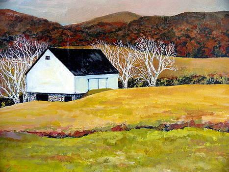 Autumn Twilight by Carol Ann Wagner