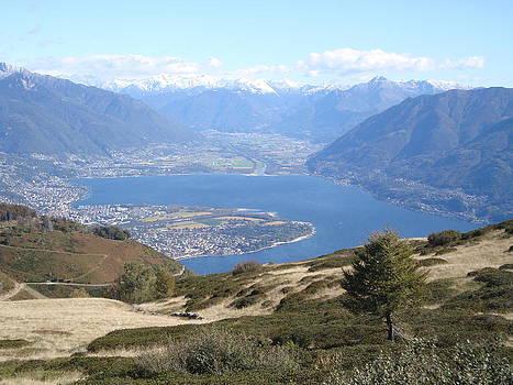 Autumn Vista in Ticino by Benjamin Austin